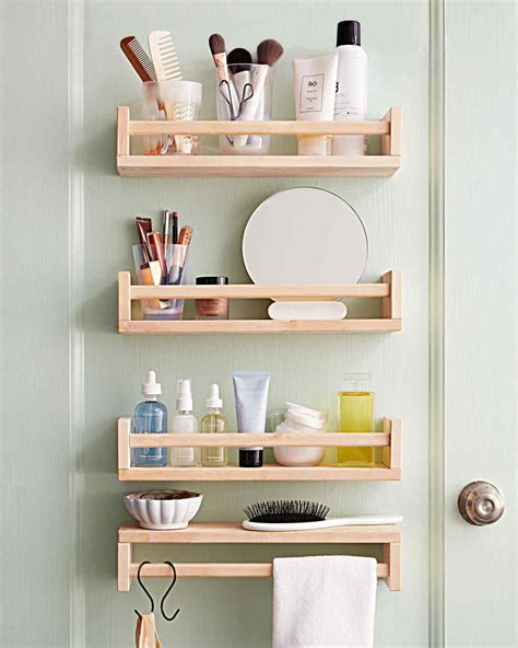 space saving bathroom storage smart space saving bathroom storage ideas martha stewart
