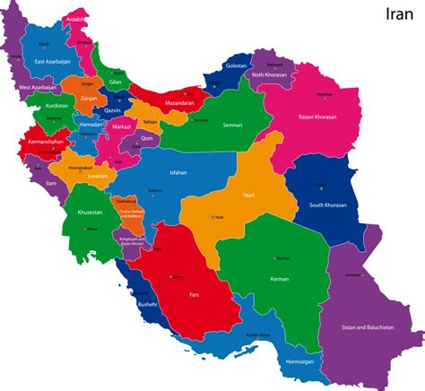 map or iran map of iran with cities arabcooking me