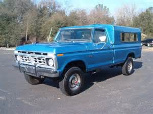 purchase used 1976 ford f250 highboy 4x4 factory a c 36k