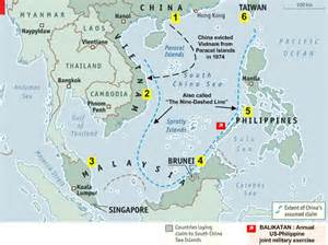 South China Sea Dispute Map by South China Sea Mare Nostrum Value Of Dissent