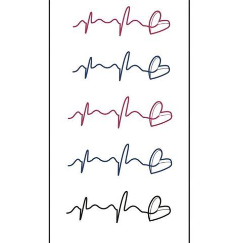 tattoo heartbeat font rythme cardiaque de tatouage achetez des lots 224 petit prix