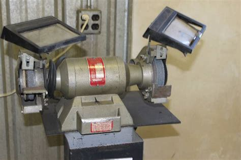 wissota bench grinder wissota ball bearing bench grinder w stand model e 33l 1
