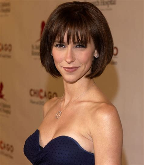 is a bob haircut for a small face jennifer love hewitt brunette bob casual everyday