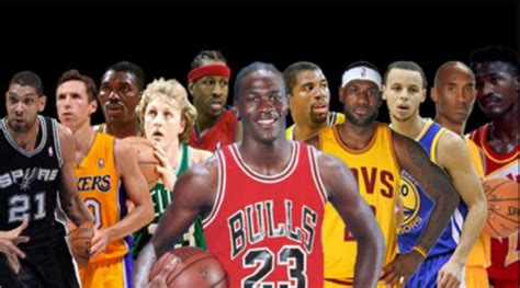 best all time ranked every nba franchise s all time starting 5 new arena