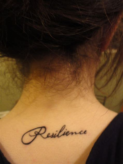 tattoo meaning resilience 44 best words on back shoulders tattoos images on