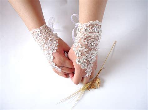 wedding gloves wedding bridal gloves fingerless by