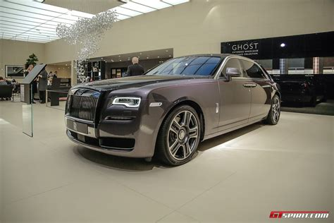 roll royce 2017 geneva 2017 rolls royce ghost with paint finish