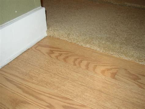 hardwood to carpet transition interior home design
