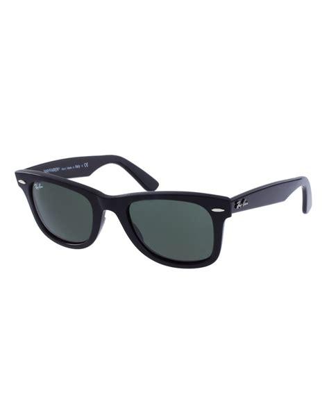 Ban Wayfarer ban original wayfarer sunglasses in black lyst