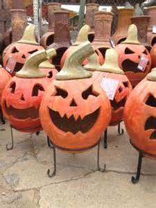Pumpkin Chiminea Pit Amigos Pottery O Lanterns On