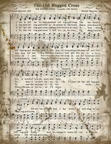 the words to the rugged cross the rugged cross free piano sheet