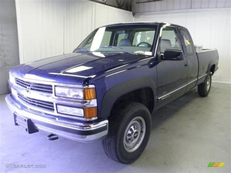 1999 chevrolet silverado 2500 extended cab 4x4 exterior