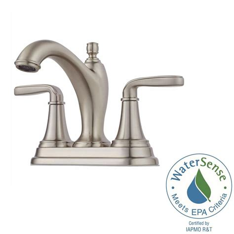 Centerset Or Widespread Faucet by Pfister Polished Nickel Widespread Faucet Polished Nickel Pfister Widespread Faucet