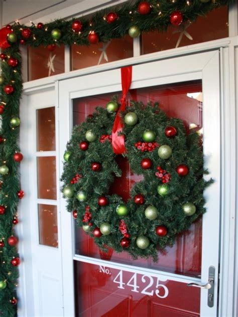 front door christmas decorating ideas hgtv