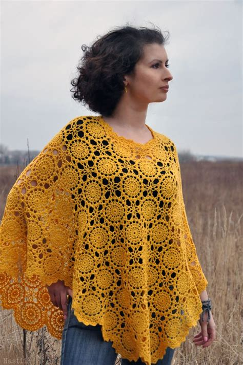 crochet shawls crochet poncho for spring free pattern 73 best gehaakte poncho s poncho crochet images on