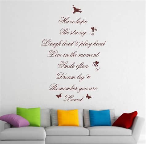 quotes sayings wall decor quotesgram wall art quotes quotesgram