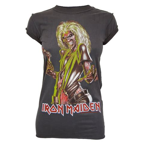 Iron On T Shirt Vintage vintage iron maiden t shirt library
