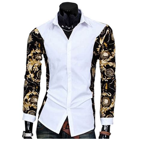 fashion design of clothes aliexpress com buy camisas fashion design slim fit men