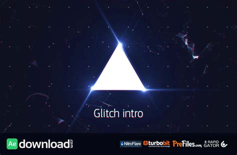 Glitch Intro 13134035 Videohive Project Free Download Free After Effects Template Free After Effects Template Glitch Intro