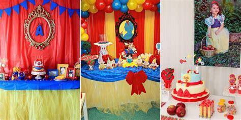 decoraci 243 n de fiestas blancanieves ideas deco fiestas infantiles blancanieves collage de ideas decoraci 243