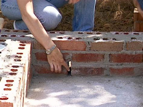 how to build a backyard bbq how to build a brick barbecue how tos diy