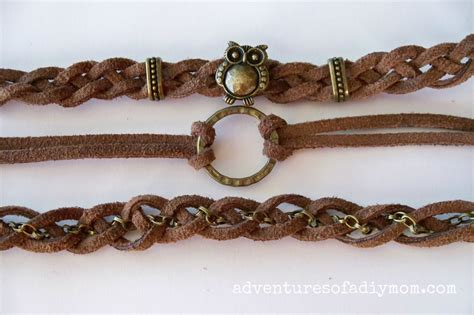 make leather jewelry how to make braided leather stacked bracelets adventures