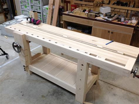 free roubo bench plans tapping threads by thewoodwhisperer lumberjocks com