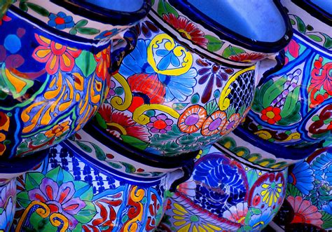 Decorative Artwork For Homes file colorful pottery jpg wikimedia commons