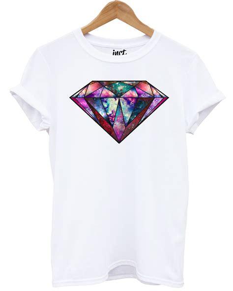 Design T Shirt Hipster | galaxy diamond t shirt fashion hipster space tumblr