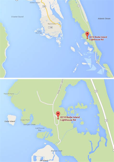 map of bodie island nc search results million gallery