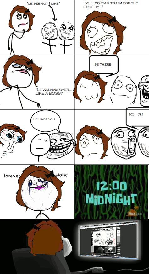 Meme Comic Tumblr - sad rage comic by starthefox101 on deviantart