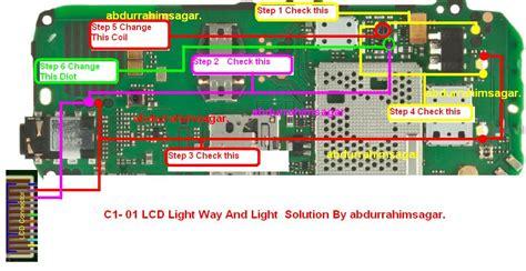 Lcd Nokia C1 01 Oc A c1 00 light solution gsm forum