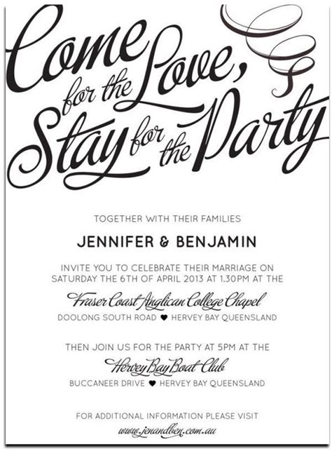 informal post wedding reception wording casual wedding reception invitation wording 25 casual