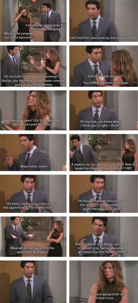 friends tv show quotes dump a day