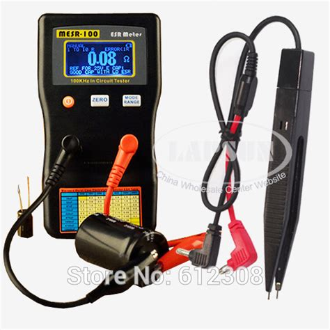 capacitor tester circuit popular esr capacitor tester buy cheap esr capacitor tester lots from china esr capacitor tester