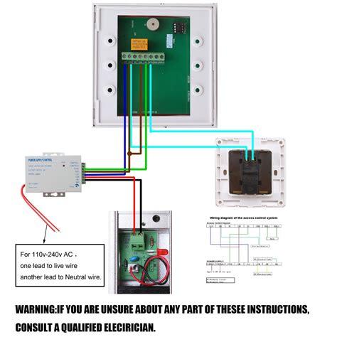 Power Supply 12v 3a Utk Rfid Access Door Lock 3 image set rfid door access system kit with