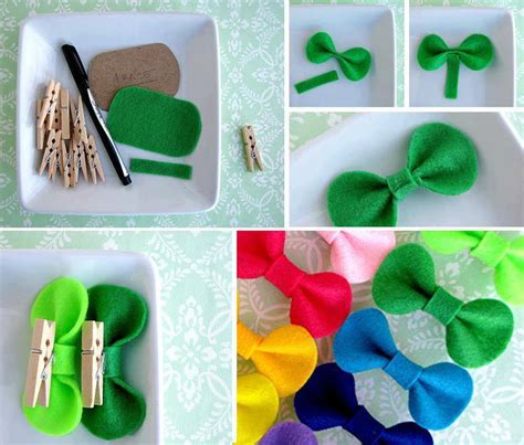 Handmade Projects - diy easy felt bow diy projects usefuldiy