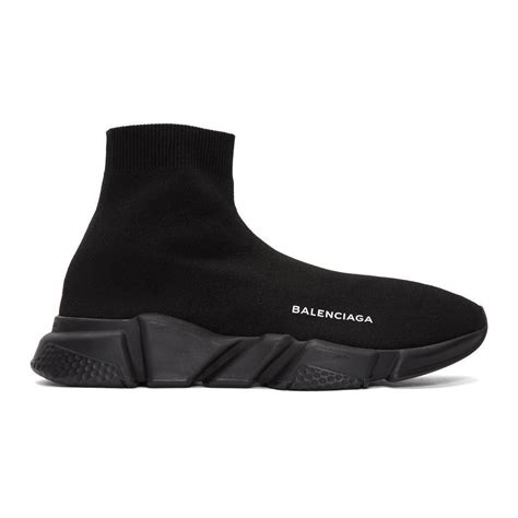balenciaga speed high top sneakers black size 7 8 9 10 11 12 13 mens shoes new ebay