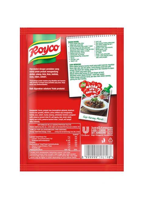 Royco Bumbu Ekstra Daging Sapi royco bumbu kaldu 18025 daging sapi pck 100g klikindomaret