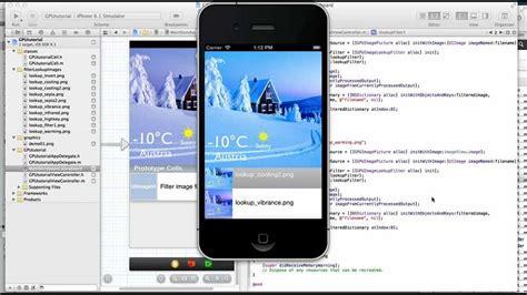 instagram xcode tutorial gpuimage framework ios image filters youtube