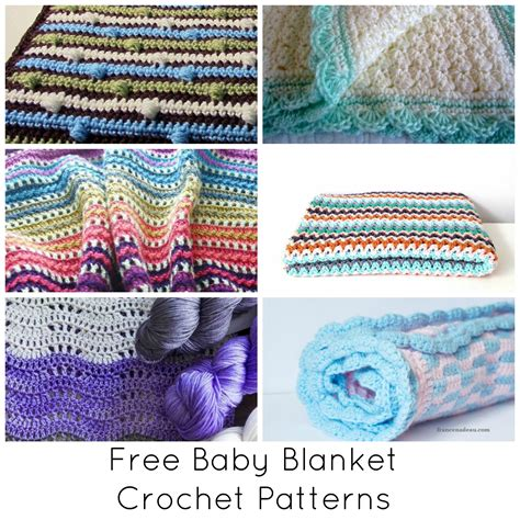 Free Crochet Patterns For Babies Blankets by Free Crochet Baby Blanket Patterns To Print Dancox For