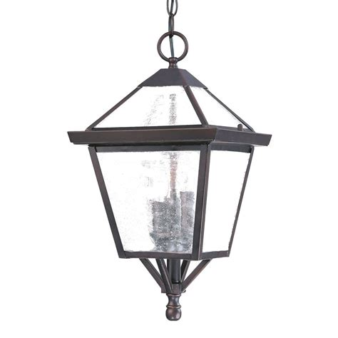 Architectural Pendant Lighting Shop Acclaim Lighting 6 In Burled Walnut Vintage Single Seeded Glass Lantern
