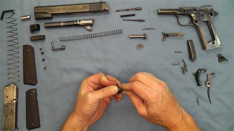 no tools assembly 1911 pistol no tools detail strip assembly youtube