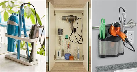 bathroom storage for hair tools 7 bathroom storage ideas for hair tools contemporist