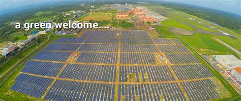 cochin airport is india s solar powered airport