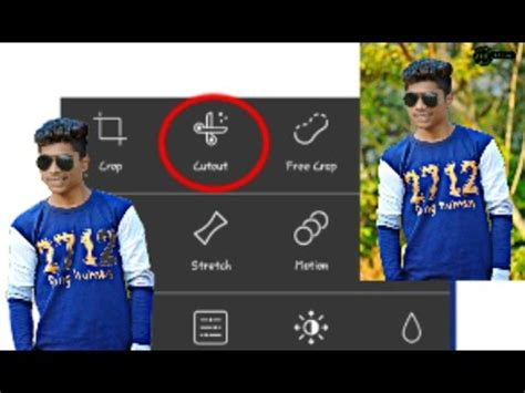 picsart tutorial crop new crop method picsart updated tool crop in 2 mins