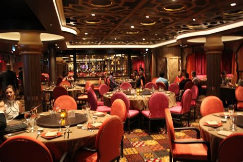 restaurant review the dining room restaurant review silk on quantum of the seas royal caribbean
