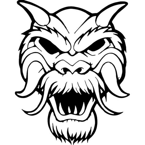 mask template vector hairy mask vector clip art download at vectorportal