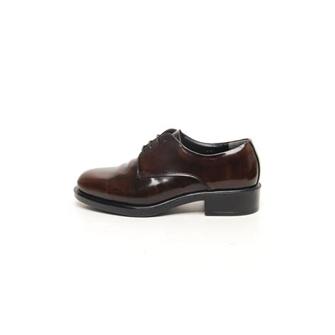 lacing oxford shoes s plain top wrinkle leather open lacing oxford shoes
