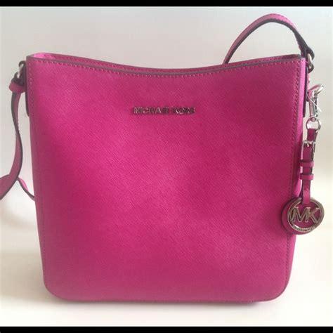 Michael Kors Pink Fuschia 24 michael kors handbags nwot michael kors crossbody pink fuschia from buana s closet on